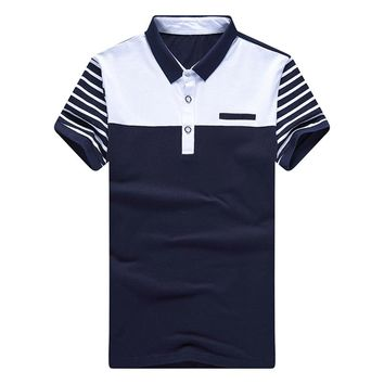 Men's Summer Fashion Polo Up To 3XL!