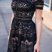 Can't Hurry Love Dress, Black