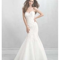 Allure Bridals Madison James MJ08 bridal gowns - Flares Bridal