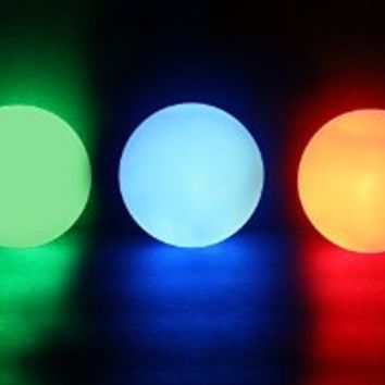 Illuminorb Multi-Purpose LED Decorative Balls (Set of 12)