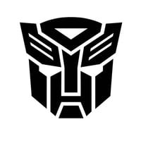Transformers Autobot Megatron decal sticker for car truck laptop ANY COLOR die cut vinyl Any Corlor
