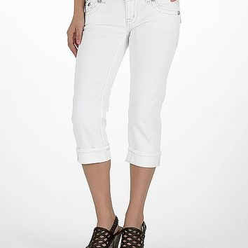 Miss Me Wing Stretch Cropped Jean