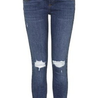 MATERNITY MOTO Jamie Ripped Jeans - Bleach Stone