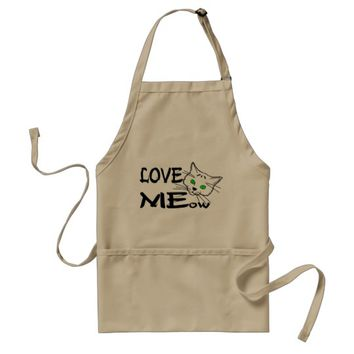 Love MEow Adult Apron