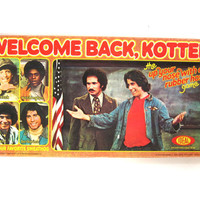 Vintage Welcome Back Kotter Board Game 1976 / complete