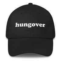 Hungover Classic Dad Cap | The Inked Elephant