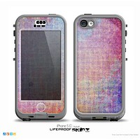 The Messy Water-Color Scratched Surface Skin for the iPhone 5c nüüd LifeProof Case