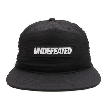 Undefeated - Sport Nylon Snapback Cap (Black)