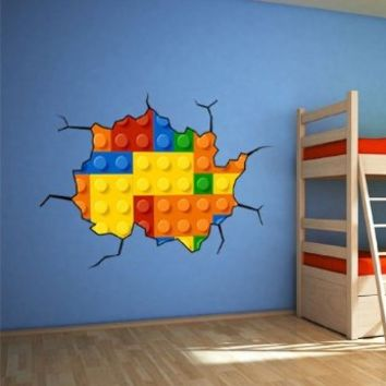 Effect Style Bricks Wall Stickers | 39.4 X 26 Inches (Small Format)