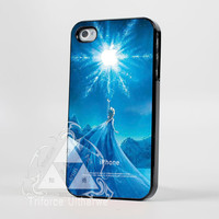 disney frozen cover movie and logo apple for iPhone 4/4s/5/5s/5c, Samsung Galaxy S4/S3 Case