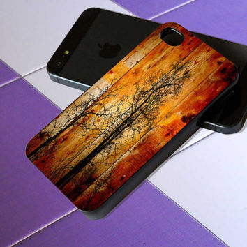 Wood - iPhone 4 / iPhone 4S / iPhone 5 / Samsung S2 / Samsung S3 / Samsung S4 Case Cover