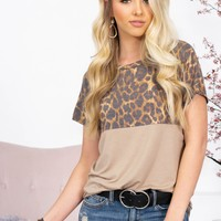 Nancy Block Leopard Top