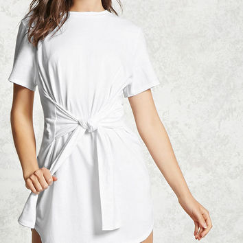 Tie-Waist T-Shirt Dress