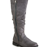 Blue Suede Shoes® Zip Boot