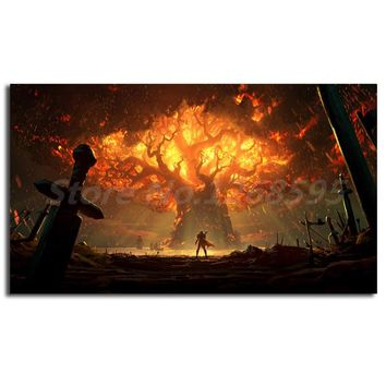 World Of Warcrafts Battle For Azeroth HD Wallpapers Canvas Posters Prints Wall Art Painting Decorative Picture Home Decoration