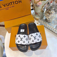 Louis Vuitton Lv Men And Women Cloth Slippers-9