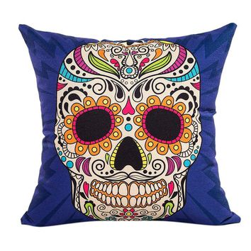 Multiple Skull Pillow Cases