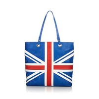 Love Twiggy Union Jack Handbag - 8124555 | HSN
