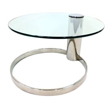 Pre-owned Mid-Century Modern Pace Chrome Coffee Table