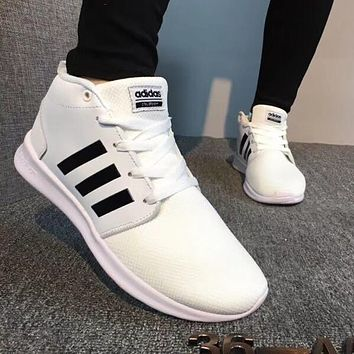 Adidas NEO Woman Men Fashion High-Top Sneakers Sport Shoes