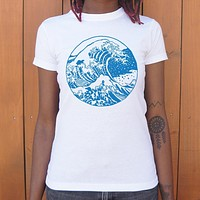 Ladies Great Wave T-Shirt