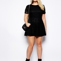 Truly You Lace Playsuit