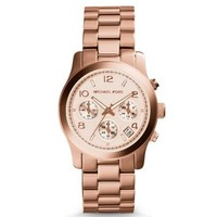 Rose Gold-Tone Chronograph Runway Watch | Michael Kors