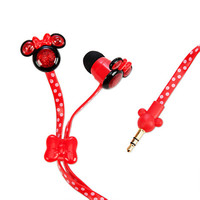 Minnie Mouse Ear Buds - Red