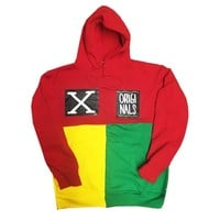 "Originals ""X"" Tri Color Hoodie ""Red/Yellow/Green"""