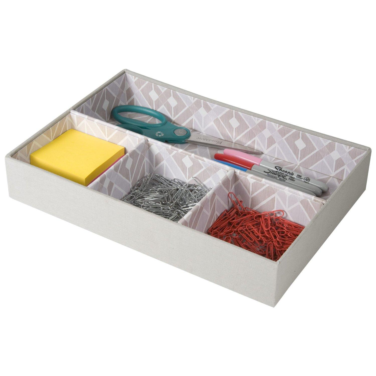 Decorative Sectional Table Top Organizer From Amazon Desk