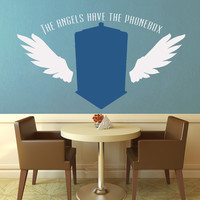 The Angels Have the Phonebox - Doctor Who Wall Decal