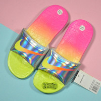 Trendsetter Nike Woman Fashion Multicolor Sandals Slipper Shoes