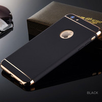 2016 new phone case Elegance Luxury  Protection Cover Cases For iPhone 6 6s 6plus case Glass For iPhone 6S Case cover