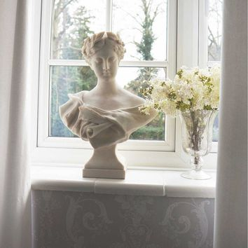 Diane Bust | Grecian Style Female Stone Bust