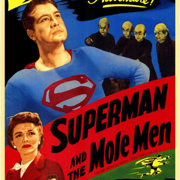 Superman and the Mole Men 11x17 Movie Poster (1951)