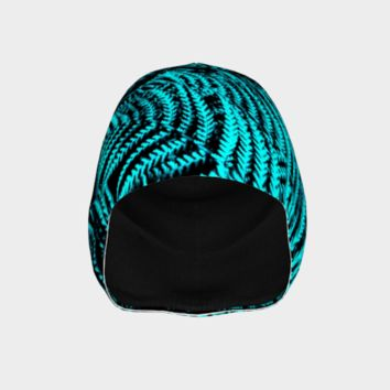Turquoise Twosome Beanie