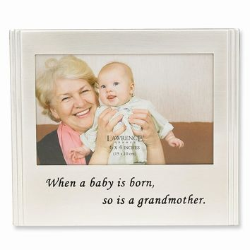 When a Baby is born Photo Frame - Engravable Personalized Perfect Baby Gift