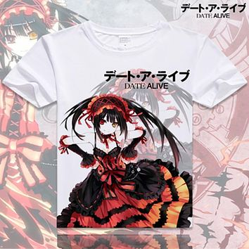 Cosplay t shirts Cotton Tops