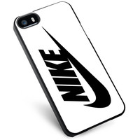 Black Nike Just Do It Swoosh iPhone 5s Case
