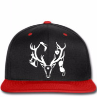 18 deer bachelor party fun funny love stag nigh copy - Snapback