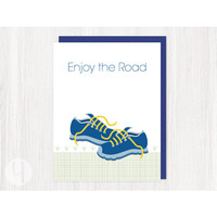 Running Shoes Greeting Card