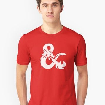 'Dungeons and Dragons' Tri-blend T-Shirt by Cameron Blenton