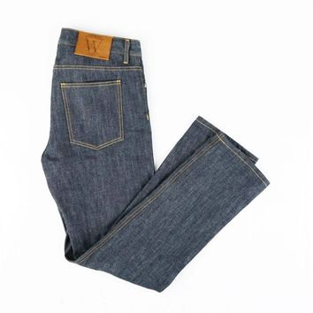Webster - Slim Straight Raw Selvedge Jeans