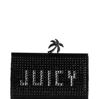 PALM CHIC SMALL FRAMED CLUTCH