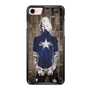 Dallas Cowboys Marylin Monroe iPhone 7 Case