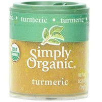 Kosher Simply Organic Mini Ground Turmeric (6x.53 Oz)