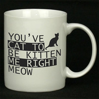 You ve Cat to be Kitten Me Right Meow New For Ceramic Mugs Coffee *