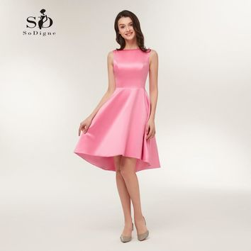 Simple Chic Homecoming Dress