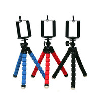 For iPhone Cell Phone Digital Camera Octopus Stand Tripod Mount + Phone Holder sjzj019
