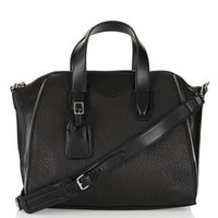 Winged Zip Detail Handbag - Bags & Wallets  - Bags & Accessories